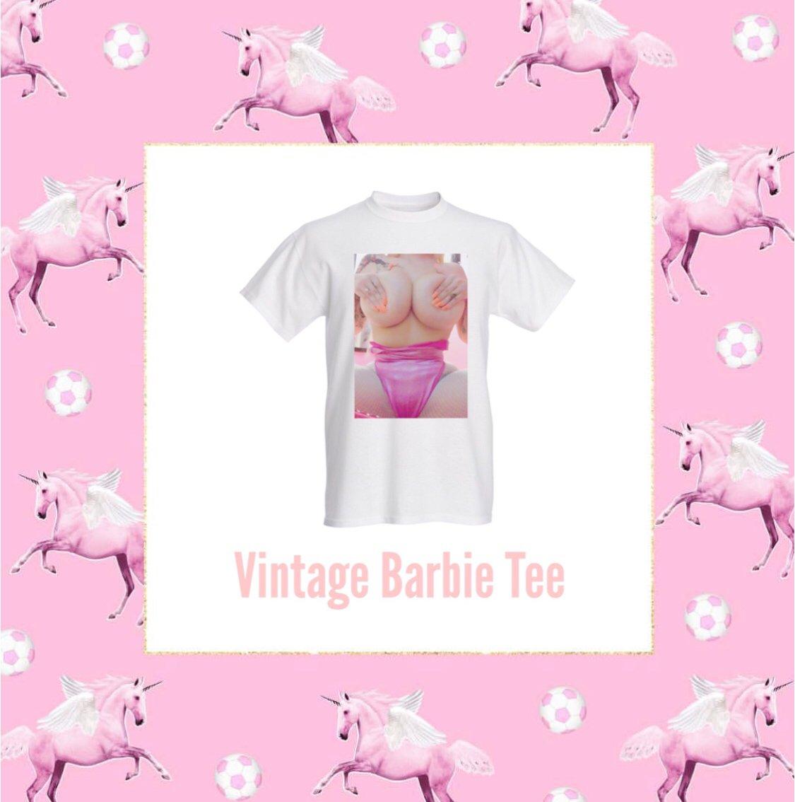 Image of VINTAGE BARBIE TEE