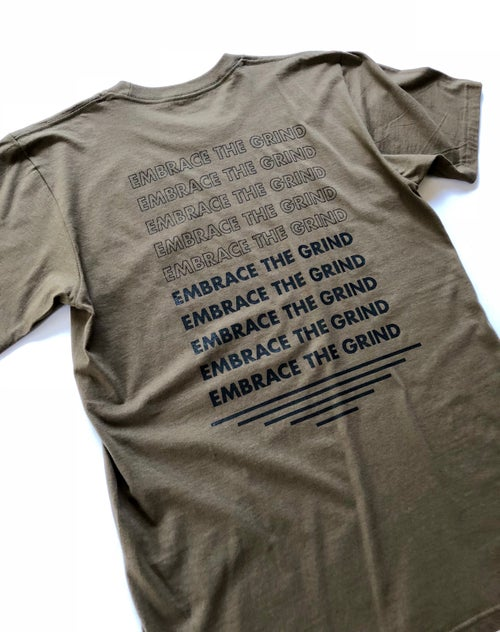 Image of Fall Grindin' Embrace The Grind Tee
