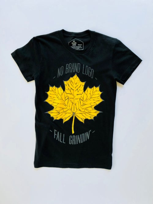 Image of Women's Fall Grindin' Golden Leaf