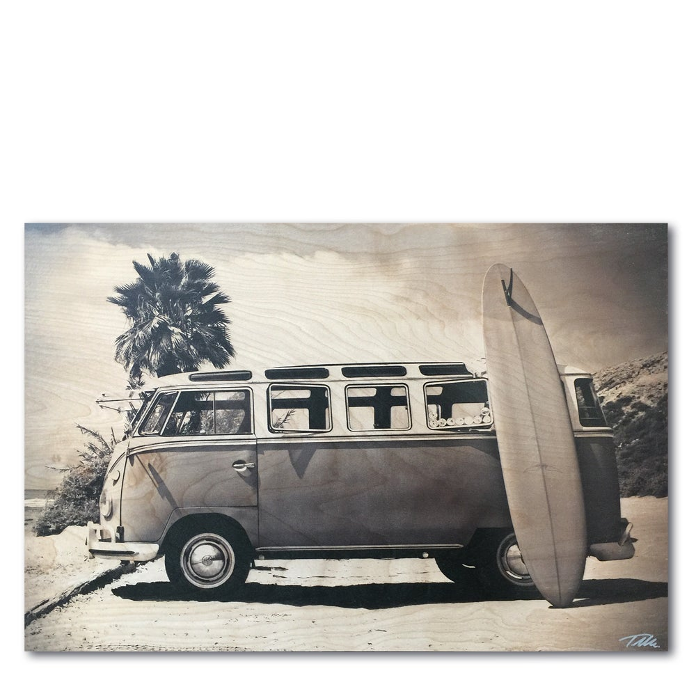 Image of THE BUS LIFE  (Wood)