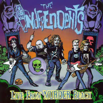 Image of LIVE FROM MURDER BEACH - The Independents CD