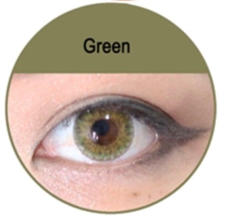 Green Soft Contact Lens Nickea S Beauty Creations