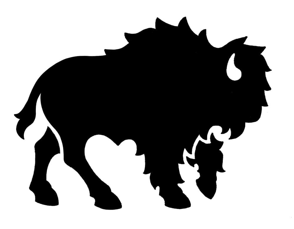 Image of Bison Sticker