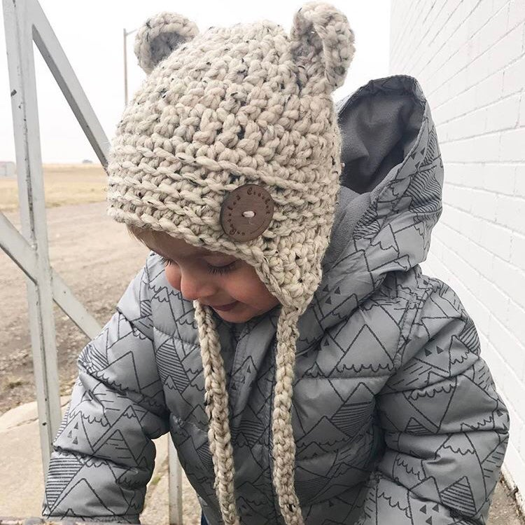 Image of Toddler/Child Bear Hat