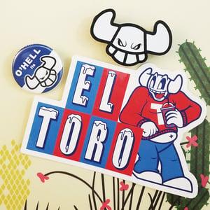 Image of Classic EL TORO - Enamel Pin