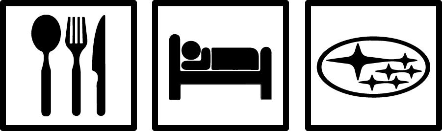 Image of Eat. Sleep. Subaru. Decal