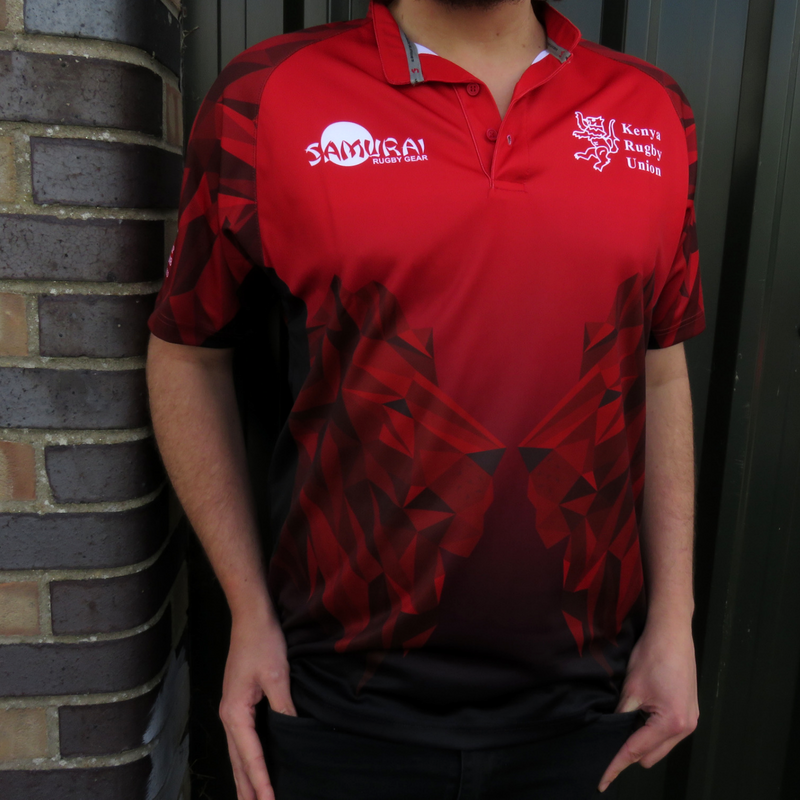 Image of Limited Edition Kenya 2018 World Cup 7s Jersey