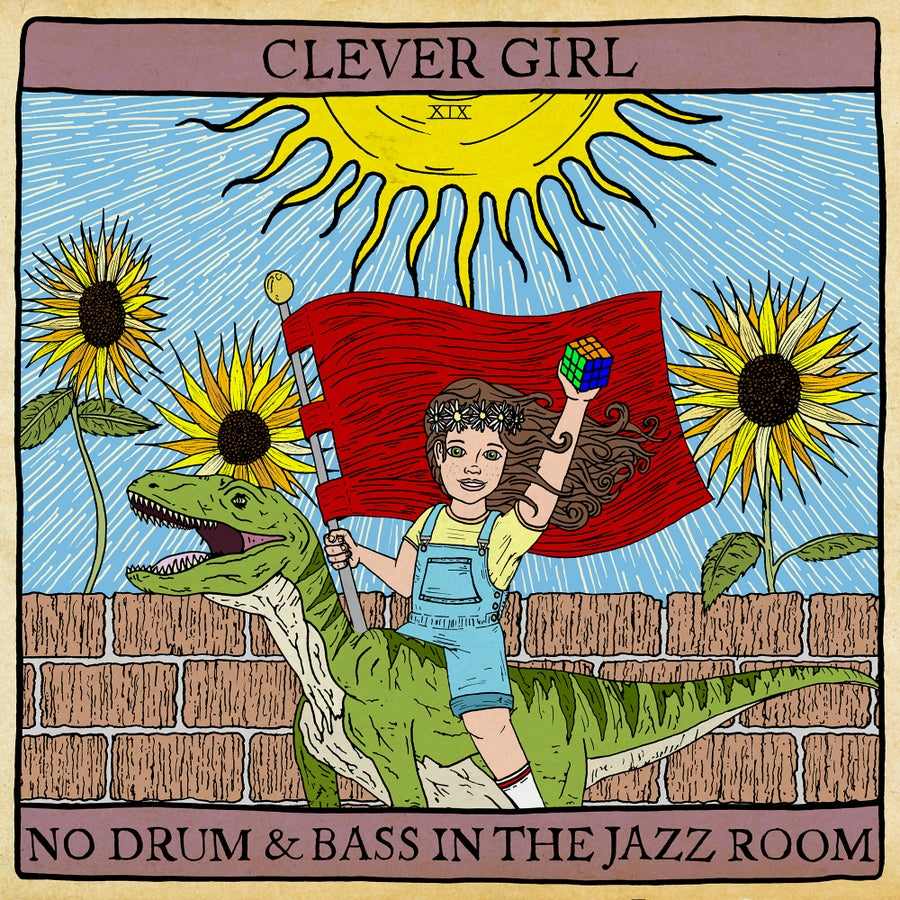 "Image of BRR042: Clever Girl - No Drum and Bass in the Jazz Room 12"" vinyl (THIRD PRESSING ON SALE NOW)"