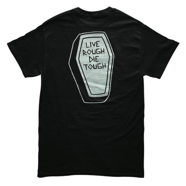 "Image of Black  ""COFFIN"" Tee"
