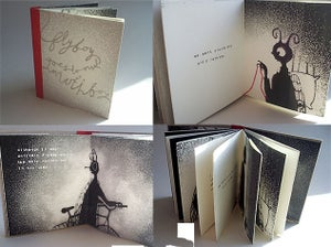 Image of FLYBOY GOES TO VISIT MOTHBOY (handmade book)