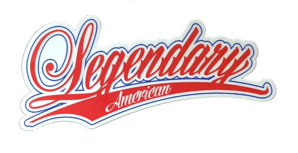 Image of Legendary American 76er Sticker
