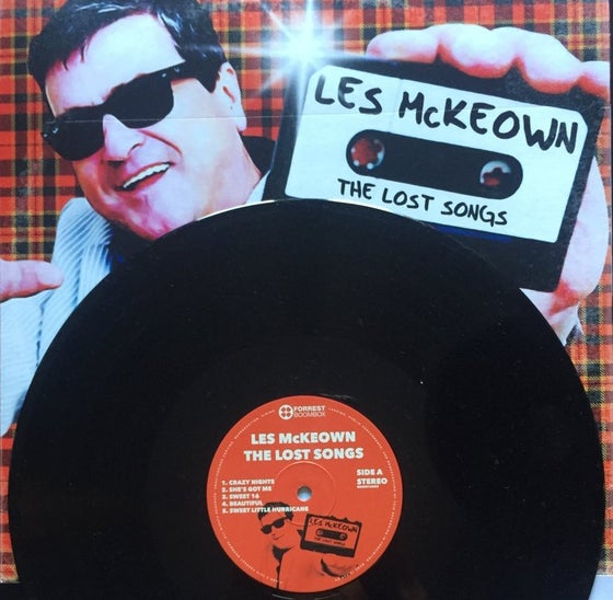 Image of Les McKeowns 'The Lost songs' on Vinyl LP