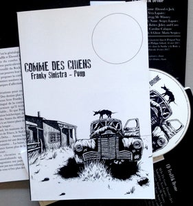 "Image of Franky Sinistra & Poup ""Comme des Chiens"" Livre + CD"