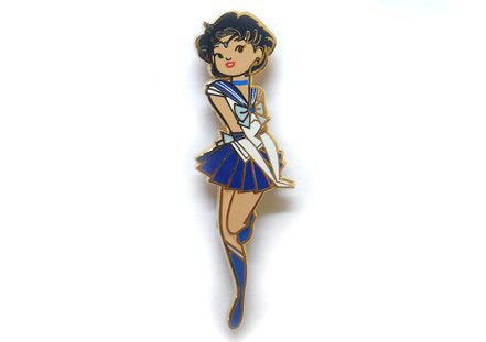 Image of Sailor Mercury Enamel Pin
