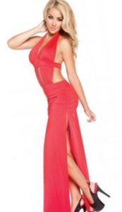 Image of Long Red Dress