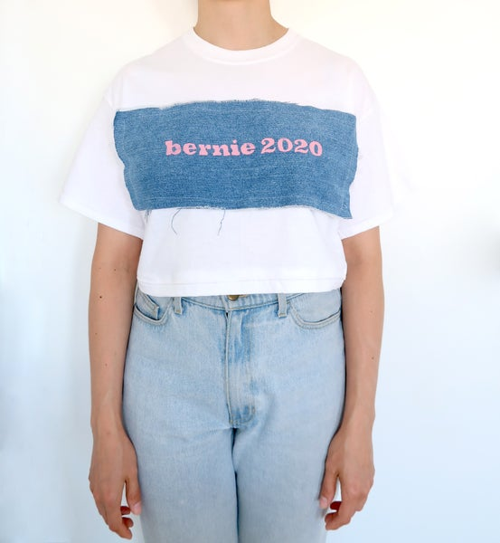 Image of Bernie 2020 Crop Tee