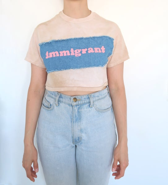 Image of Immigrant Crop Tee