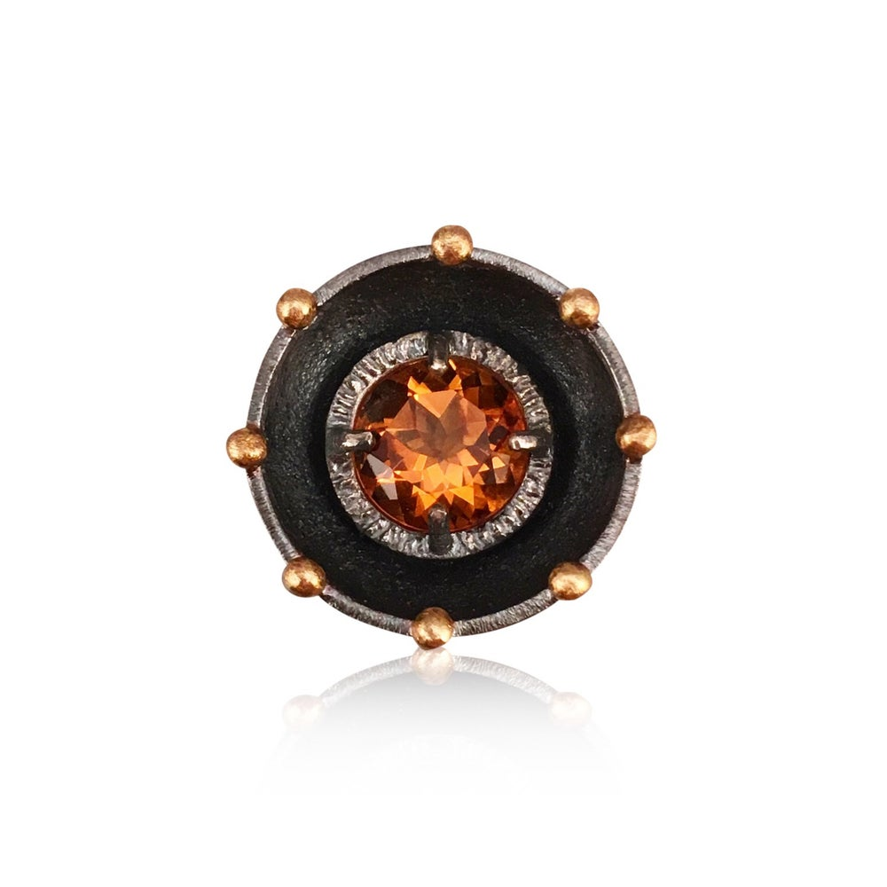 Image of jumbo juju cocktail ring in citrine