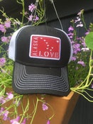 Image of Alaska Love Trucker Hat- Black