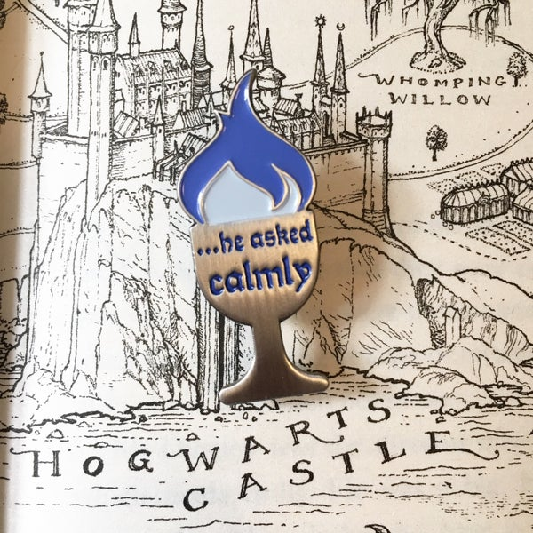 Image of Goblet of Calm Pin