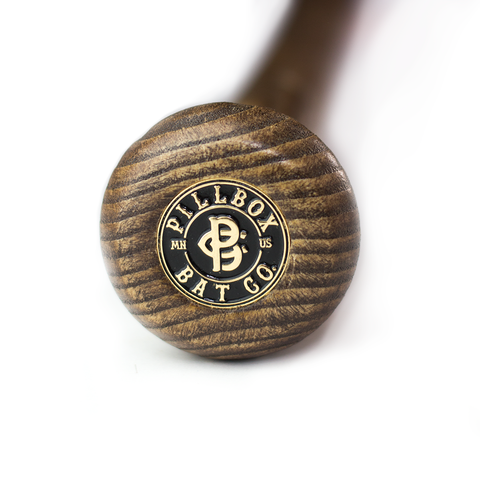 Image of Pillbox Bat Co- Blue Pinstripes