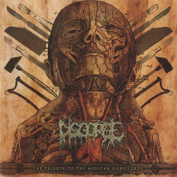 """Image of Various Artists """"Disgorge: The Tribute To The Mexican Gore Lords"""""""