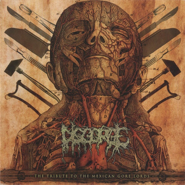 "Image of Various Artists ""Disgorge: The Tribute To The Mexican Gore Lords"""