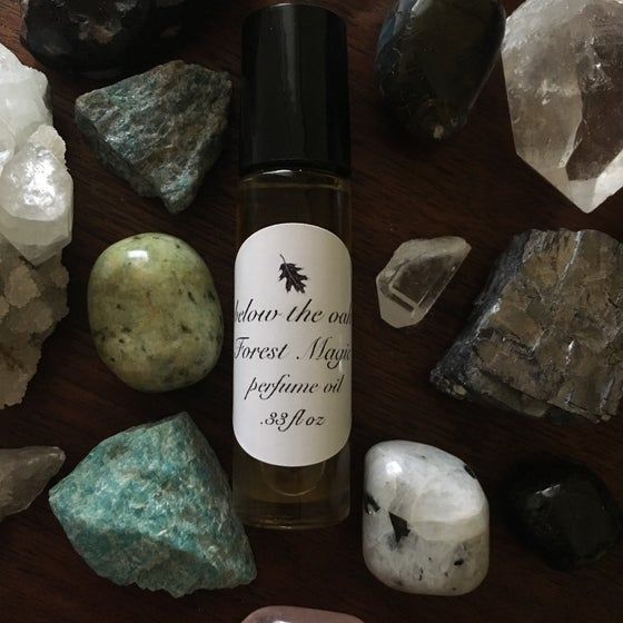 Image of Forest Magic Organic Perfume Oil.