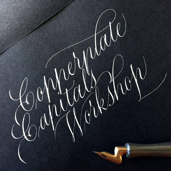 Image of Copperplate Capitals Weekend Workshop