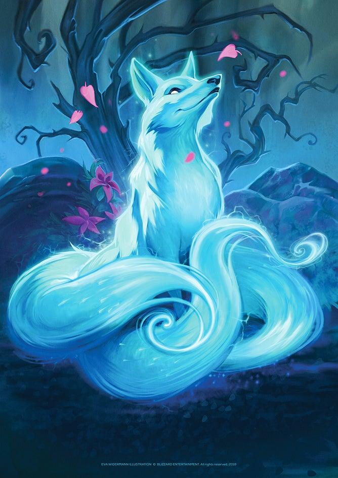 "Image of HEARTHSTONE Print ""Blink Fox"""