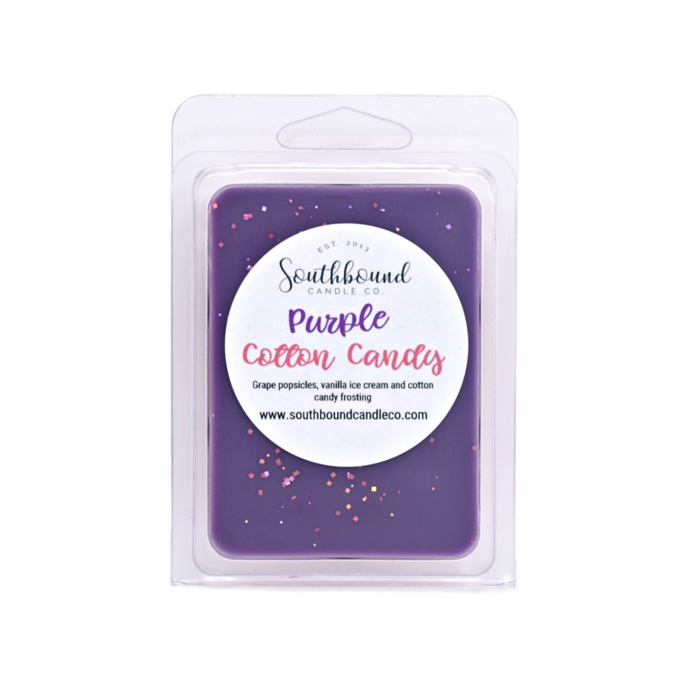 Image of Purple Cotton Candy Wax Melts