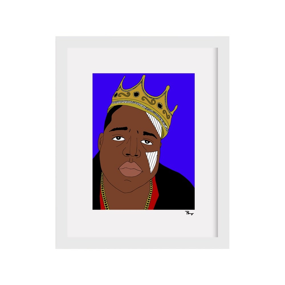 Image of Biggie Print