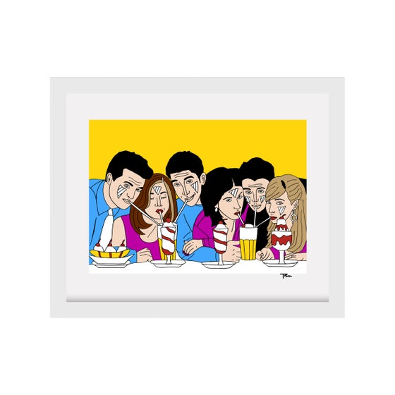 Image of Friends Print