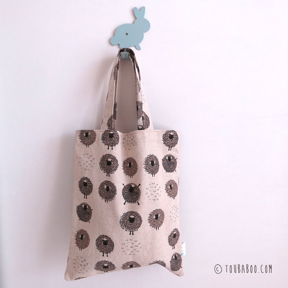 Image of Tote bag moutons