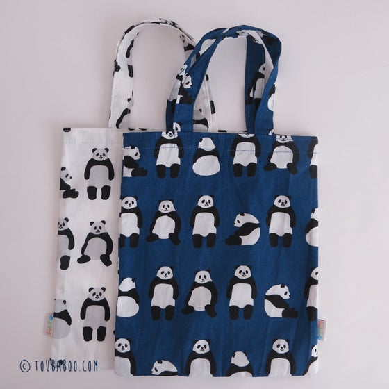 Image of Tote bag panda