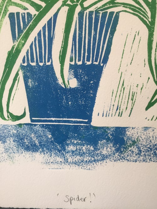 Image of ' Spider ' Screen Print