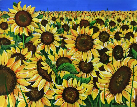 Image of The Field of Sunflowers