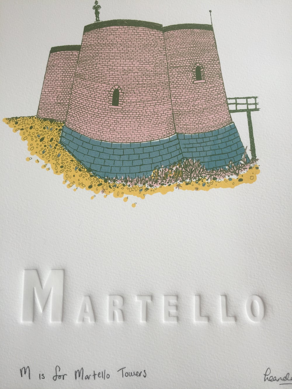 Image of M is for Martello Tower