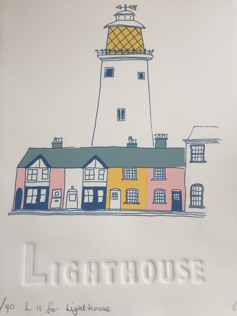 Image of L is for lighthouse ( Southwold )
