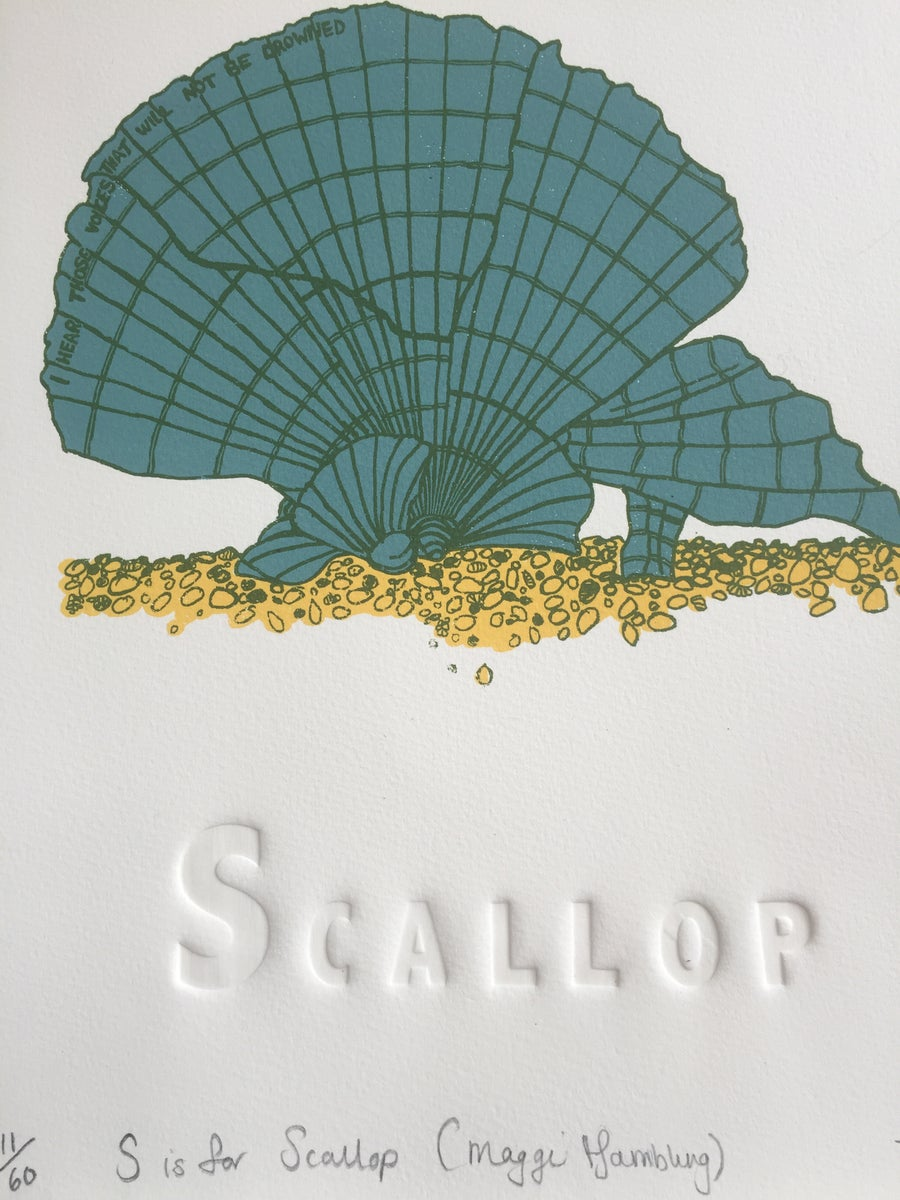 Image of S is for Scallop