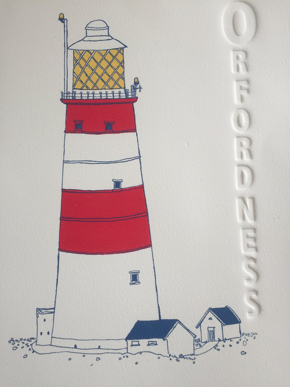 Image of O is for Orfordness Lighthouse