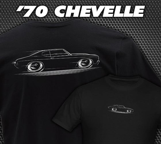 Image of 1970 Chevelle T-Shirts Hoodies & Banners