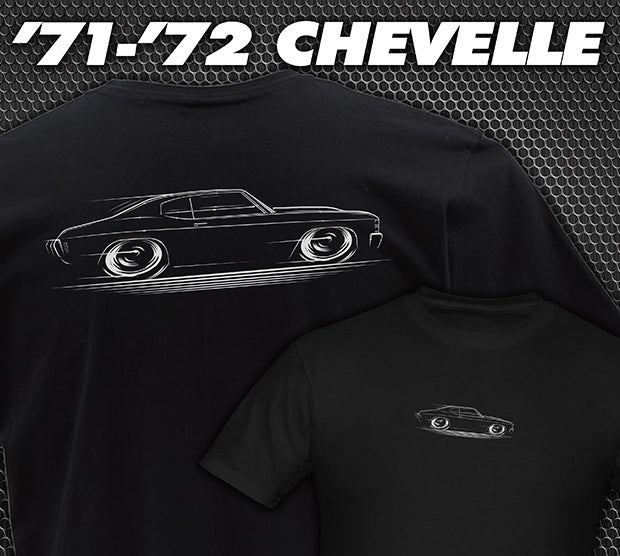 Image of 1971-1972 Chevelle T-Shirts Hoodies & Banners