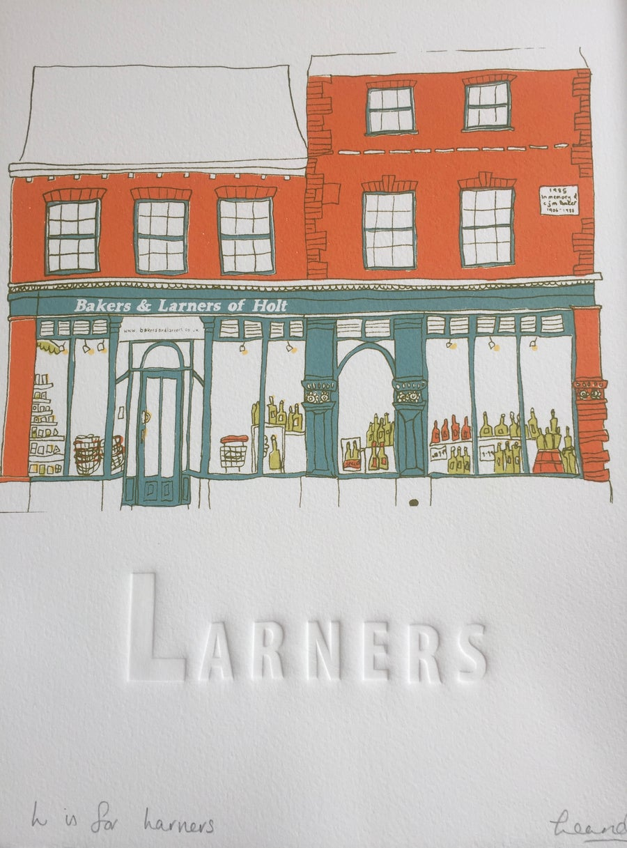 Image of L is for Larners of Holt