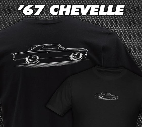 Image of 1967 Chevelle T-Shirts Hoodies & Banners