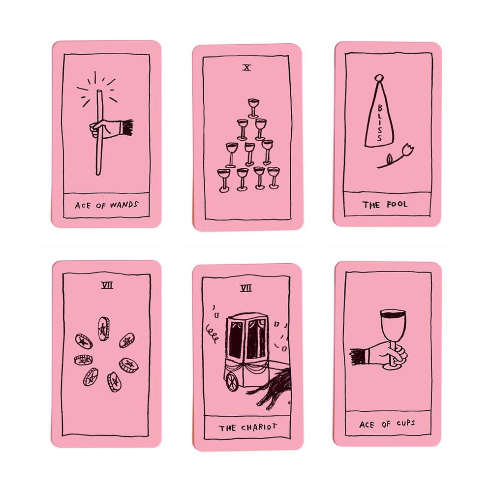 Image of OK Tarot Deck (Signed)