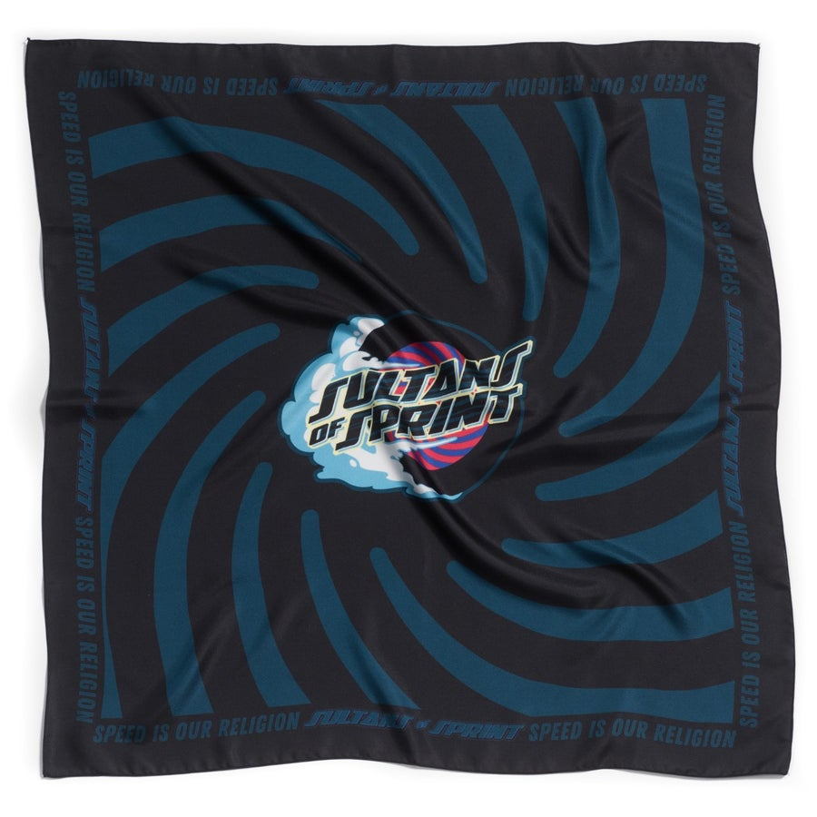 Image of Speed is Our Religion Silk Scarf