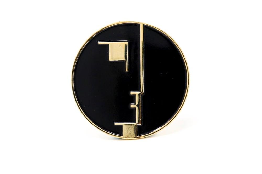 Image of Bauhaus Enamel Pin