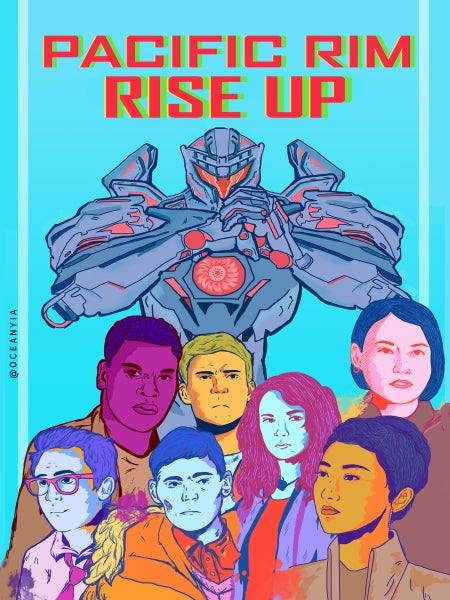 Image of pacific rim zine: rise up