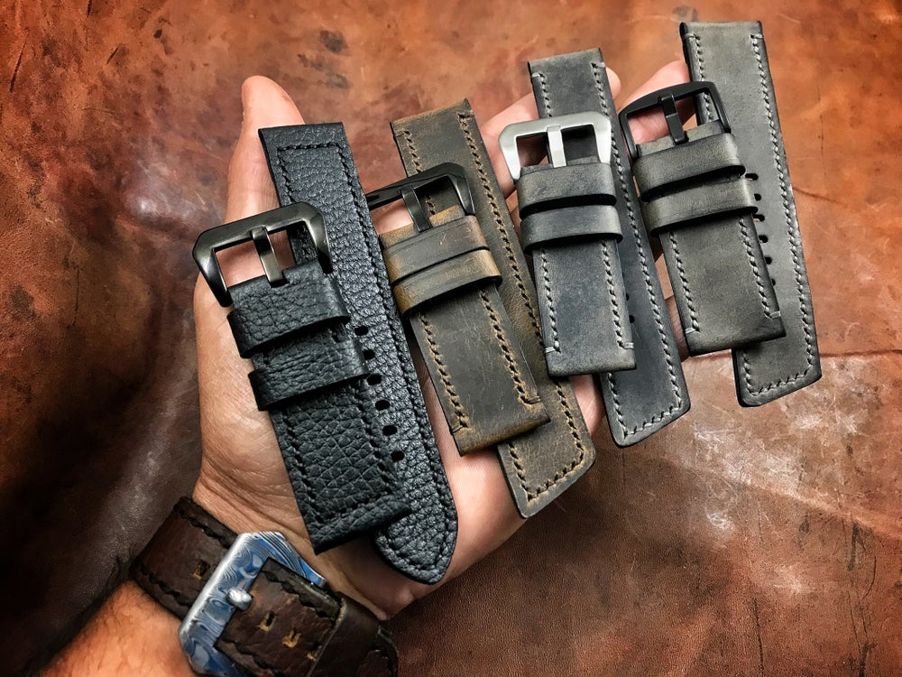 Image of Custom Leather Watch Band